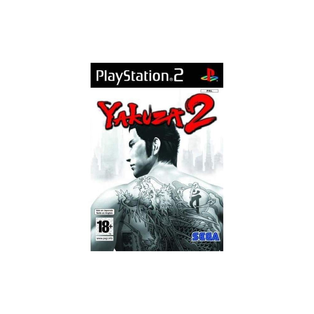 YAKUZA 2 PS2 PAL-FR OCCASION