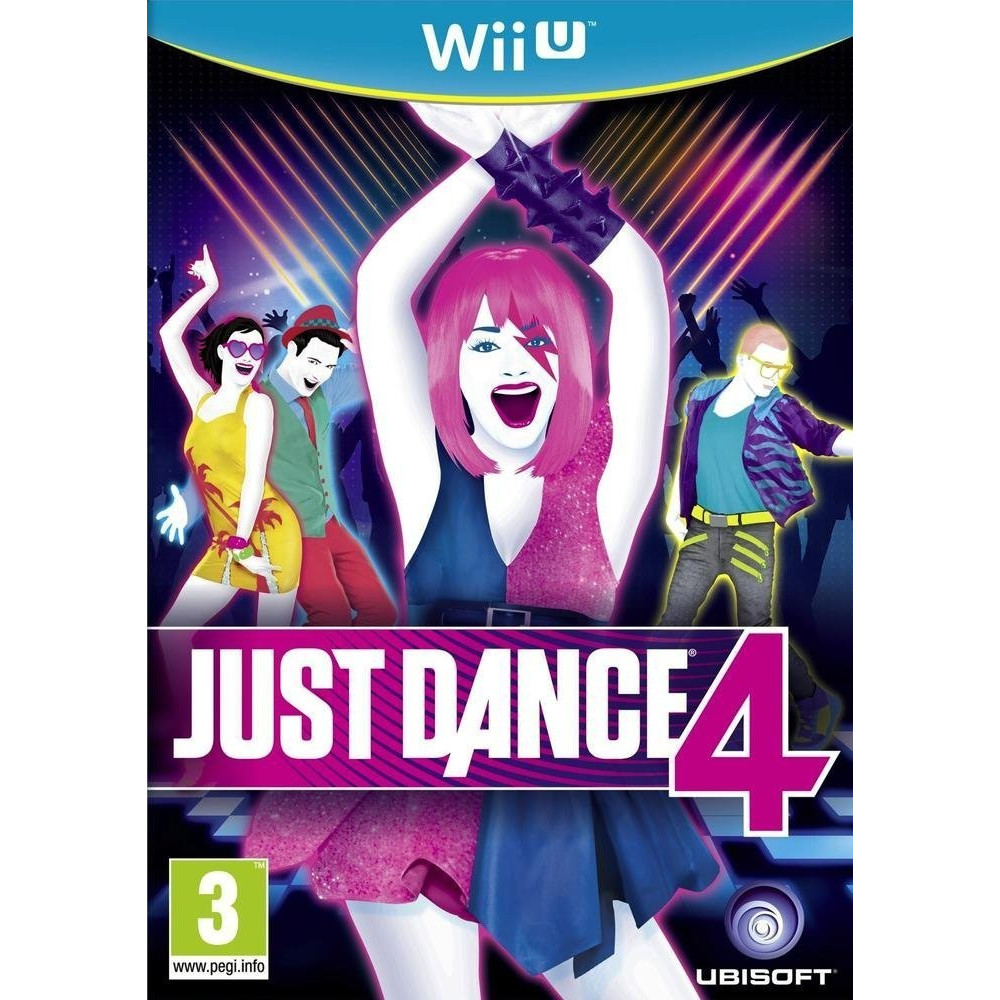 JUST DANCE 4 WIIU VF