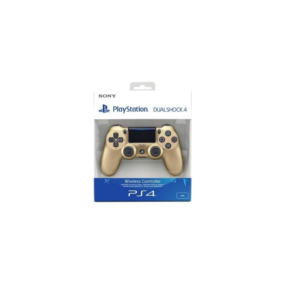 CONTROLLER DUAL SHOCK GOLD PS4 NEW