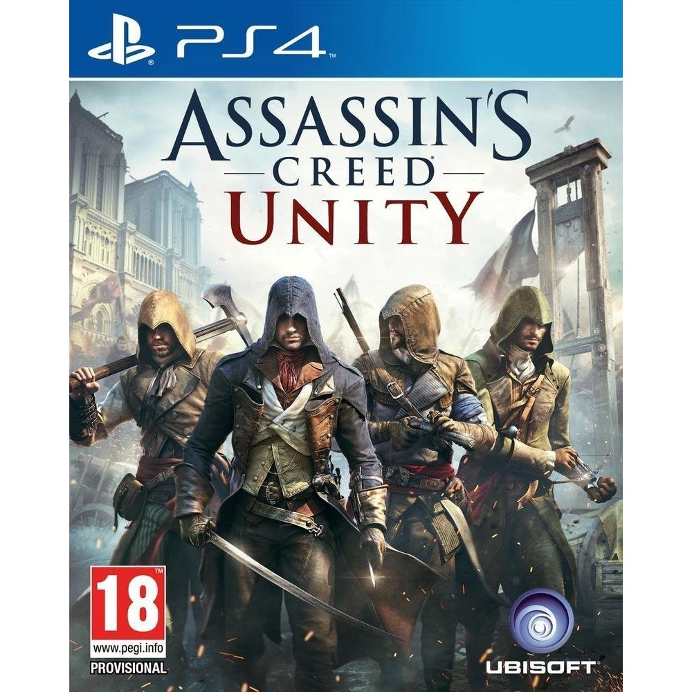 ASSASSIN S CREED UNITY BUNDLE COPY PS4 FR OCCASION