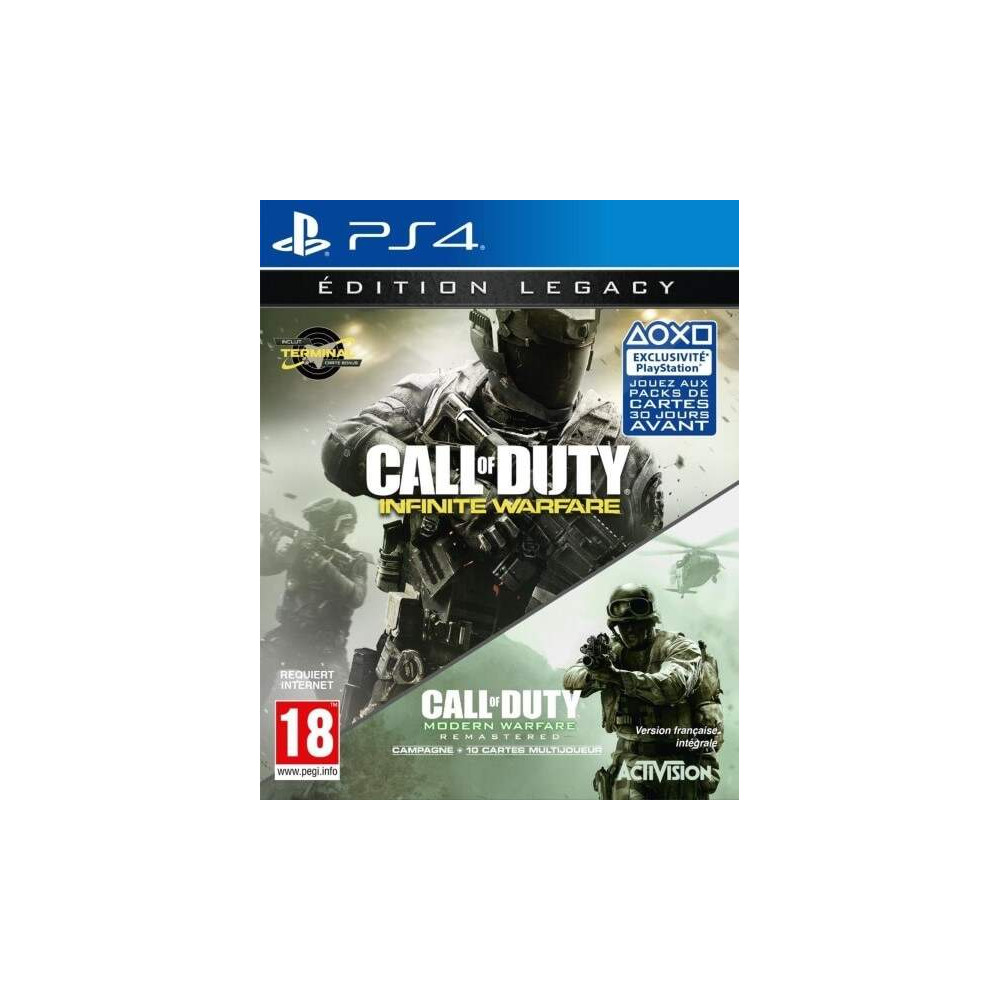 CALL OF DUTY INFINITE WARFARE EDITION LEGACY PS4 FR OCCASION