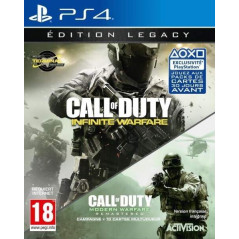 CALL OF DUTY INFINITE WARFARE LEGACY EDITION PS4 FR NEW