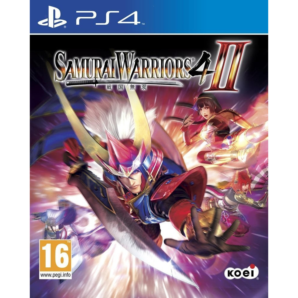 SAMURAI WARRIORS 4 - 2 PS4 FR NEW