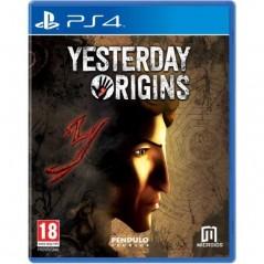 YESTERDAY ORIGINS PS4 EURO NEW