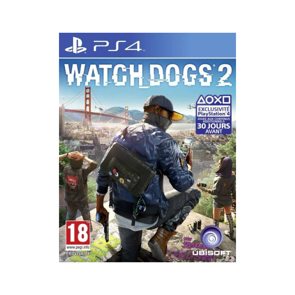WATCH DOGS 2 BUNDLE COPY PS4 FR OCCASION
