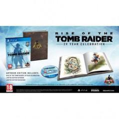 RISE OF THE TOMB RAIDER 20 YEAR CELEBRATION PS4 UK NEW