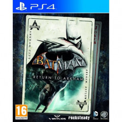 BATMAN RETURN TO ARKHAM PS4 EURO NEW