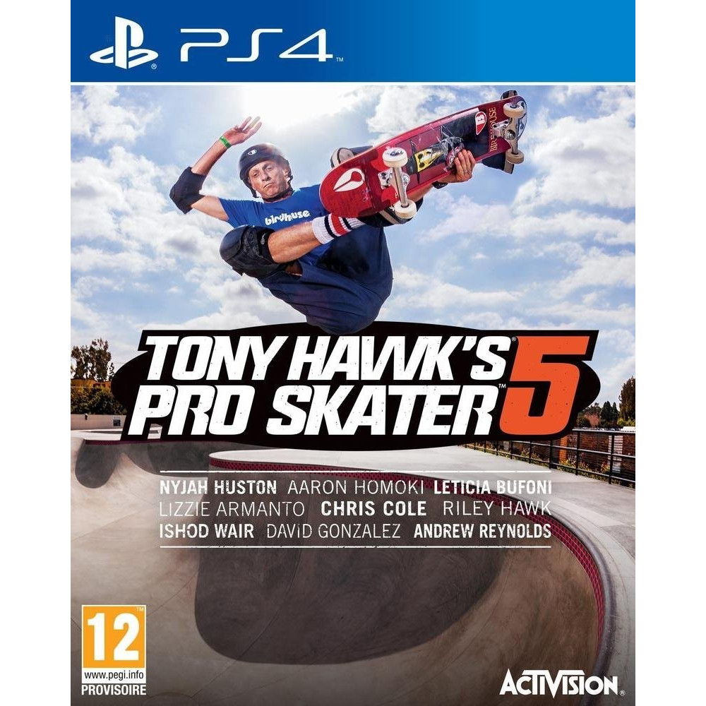 TONY HAWK S PRO SKATER 5 PS4 FR OCCASION