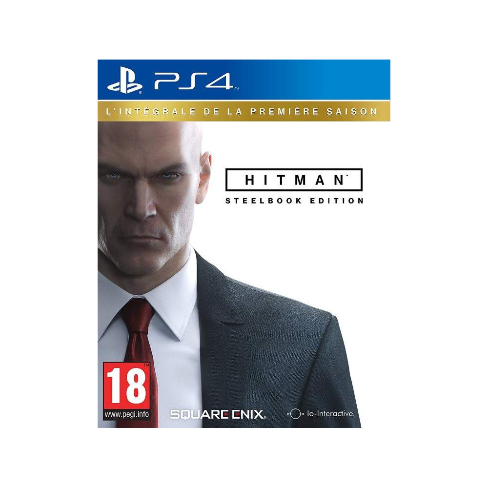 HITMAN L INTEGRALE SAISON 1 STEELBOOK PS4 FRANCAIS NEW