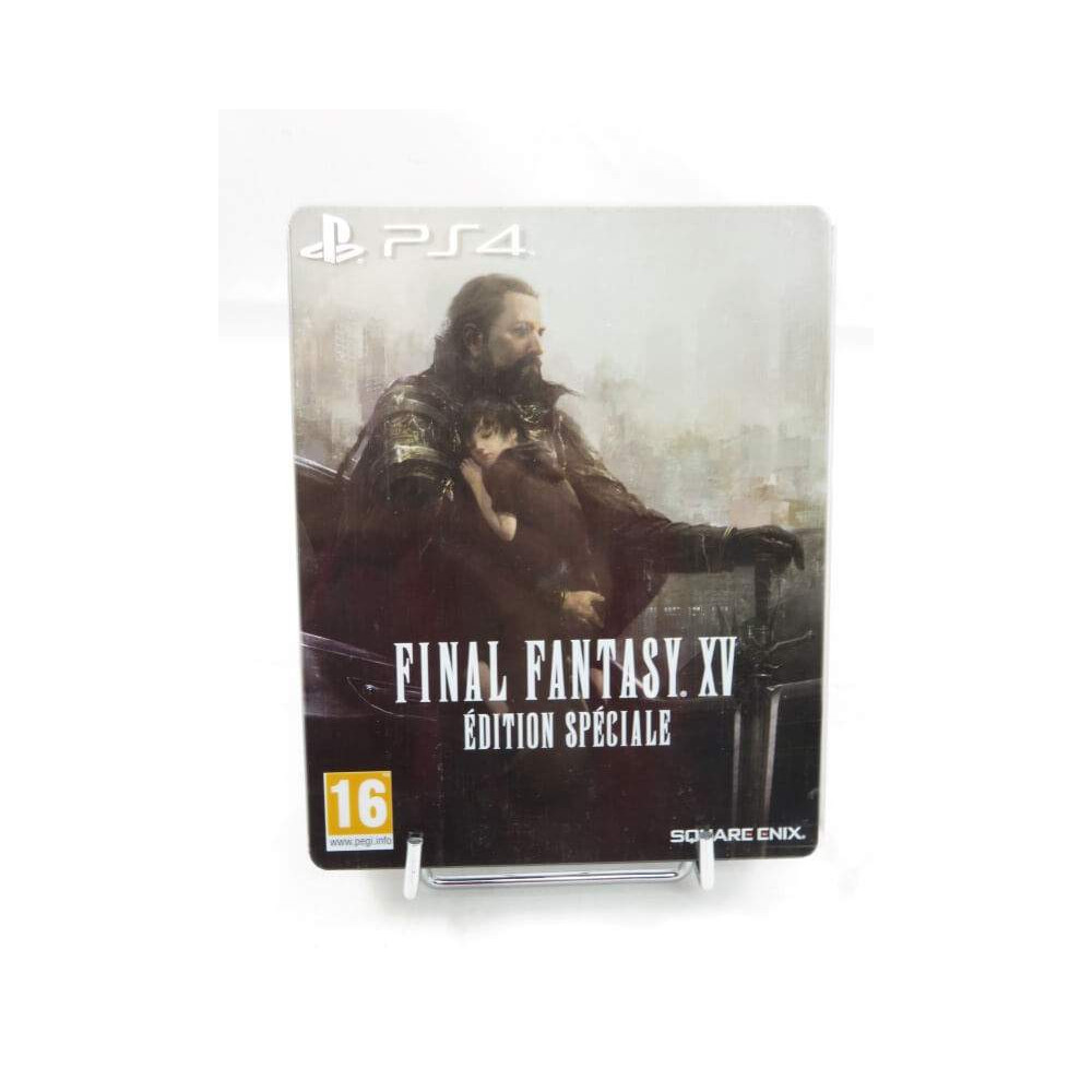 FINAL FANTASY XV SPECIAL EDITION STEELBOOK PS4 FRANCAIS OCCASION