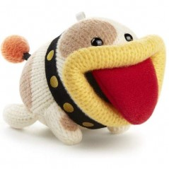AMIIBO YOSHI S WOOLLY WORLD POOCHY DE LAINE FRANCAIS NEW