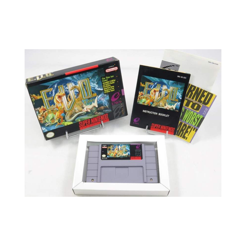 E.V.O. SEARCH FOR EDEN SNES NTSC-USA OCCASION