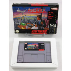 AEROBIZ (IMPORT FR) SNES NTSC-USA (SANS NOTICE)