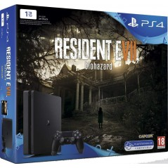 CONSOLE PS4 SLIM 1 TO + RESIDENT EVIL 7 EURO NEW