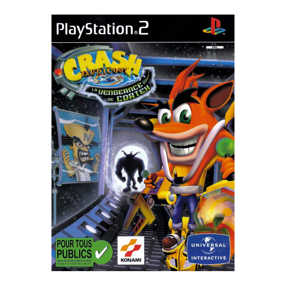 crash bandicoot la vengeance de cortex