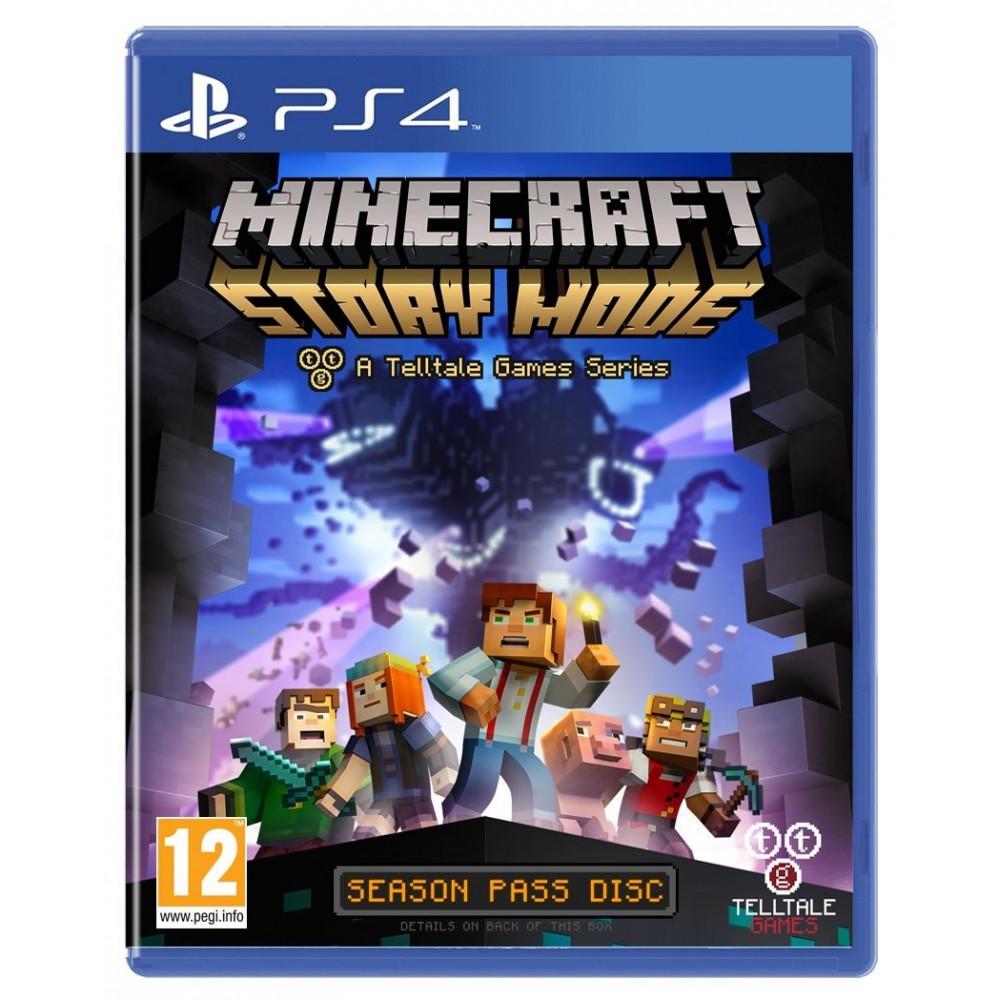 MINECRAFT STORY MODE PS4 UK