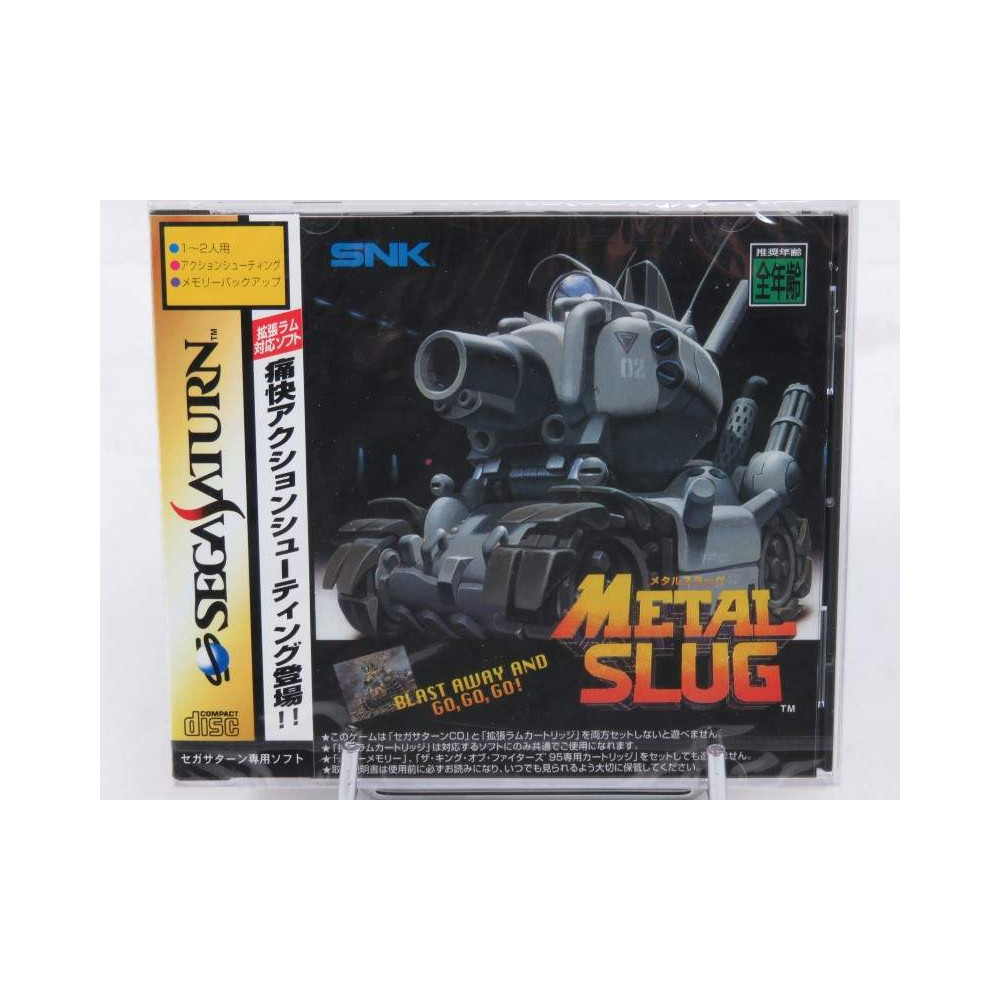 METAL SLUG SATURN NTSC-JPN NEW