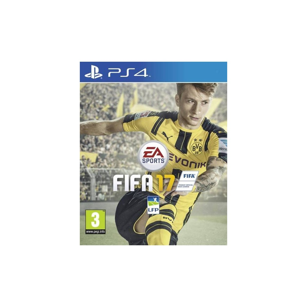 FIFA 17 PS4 PAL-FR OCCASION