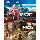 FARCRY 4 + FARCRY PRIMAL PS4 FRANCAIS NEW