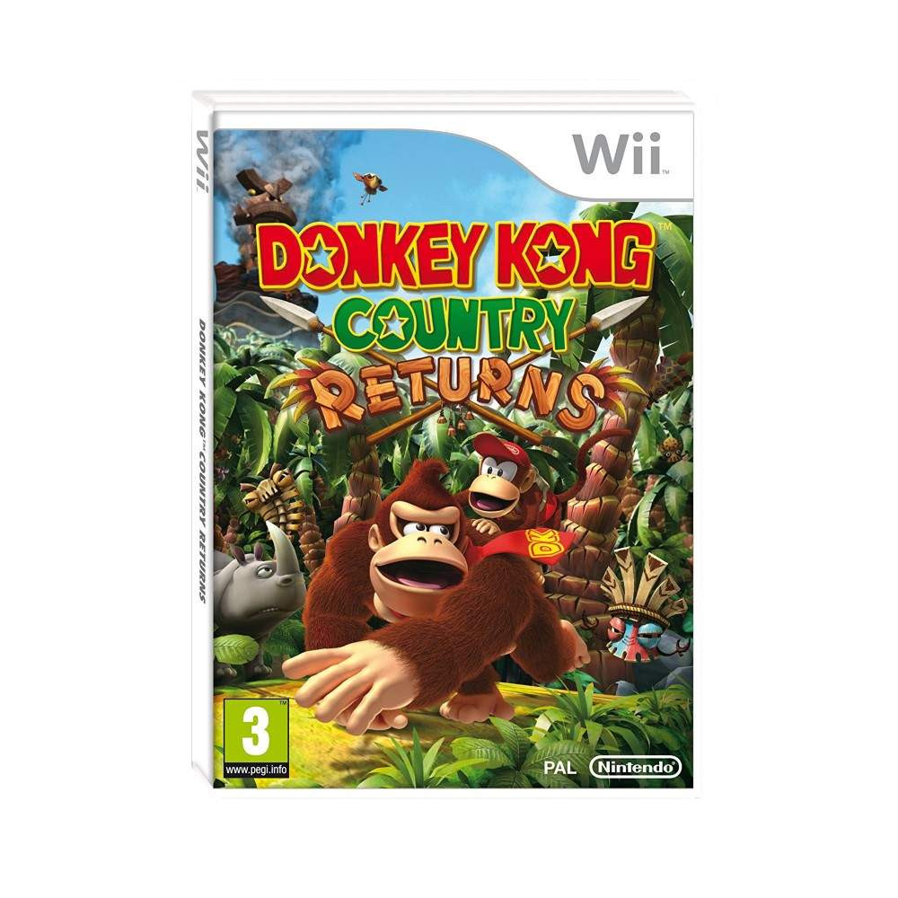 DONKEY KONG COUNTRY RETURNS WII PAL-FRA OCCASION