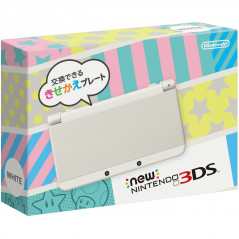 CONSOLE NEW 3DS WHITE JAPONAIS OCC