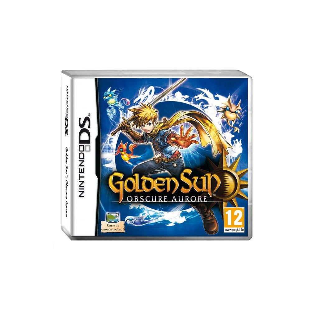 GOLDEN SUN : OBSCURE AURORE NDS FRA OCCASION