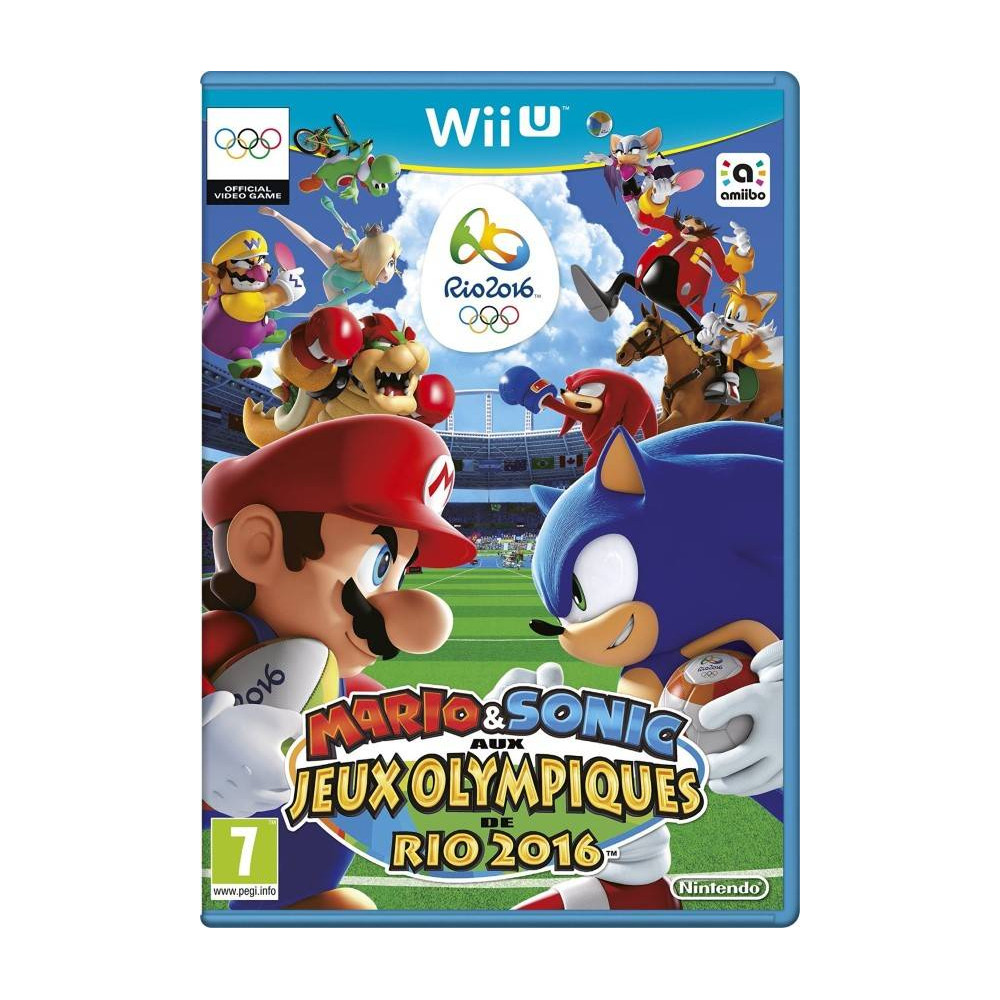 MARIO ET SONIC AT THE RIO 2016 OLYMPIC GAMES WIIU ANGLAIS OCCASION