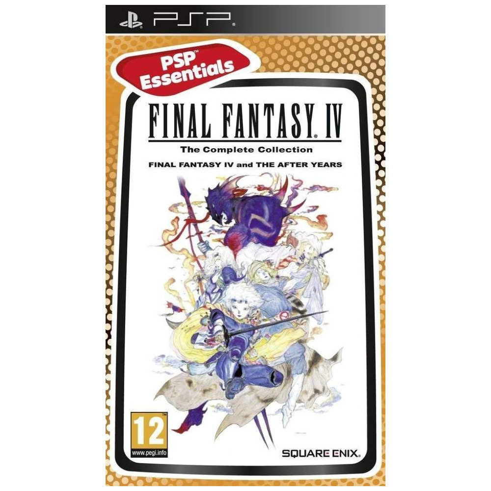 FINAL FANTASY IV THE COMPLETE COLLECTION ESSENTIALS PSP FR OCCASION