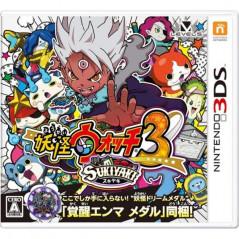 YOUKAI WATCH 3 SUKIYAKI 3DS JAPONAIS OCCASION