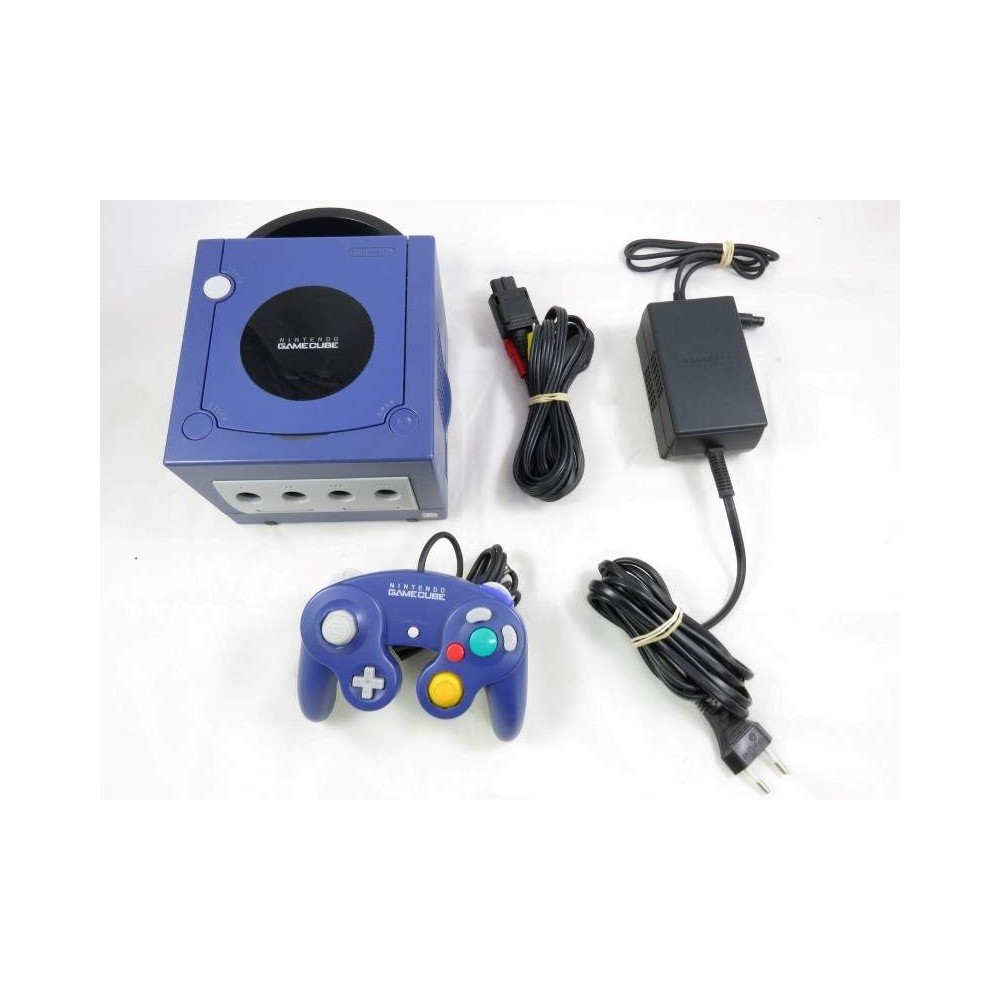 CONSOLE GAMECUBE PURPLE PAL-EURO OCCASION MODIFIEE XENO