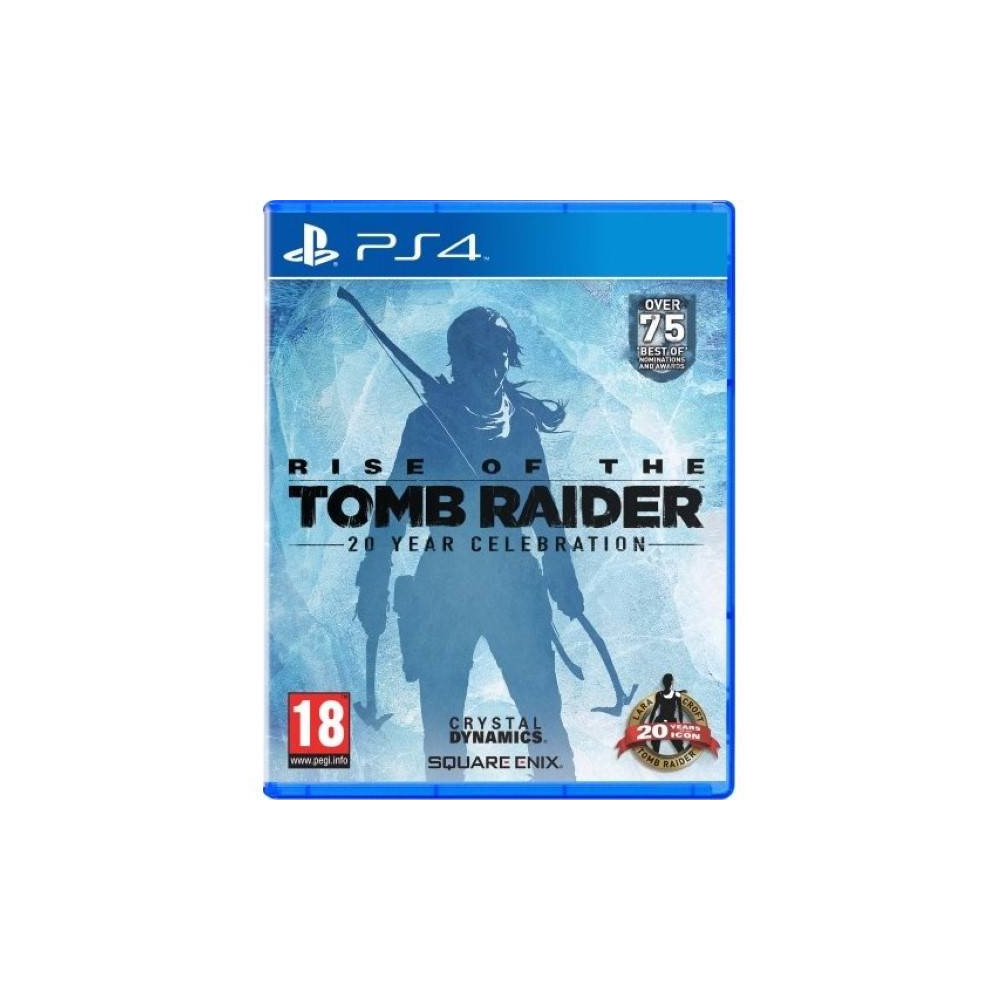 RISE OF THE TOMB RAIDER 20 EME ANNIVERSAIRE PS4 FR OCCASION