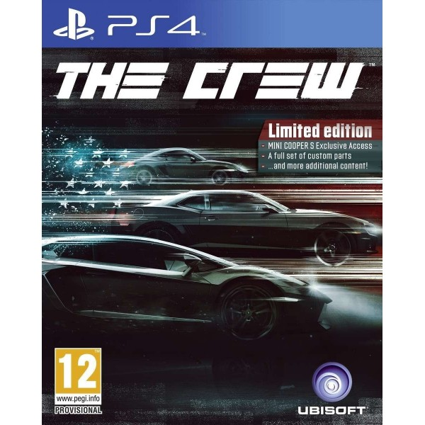 THE CREW LIMITED EDITION PS4 FR NEW
