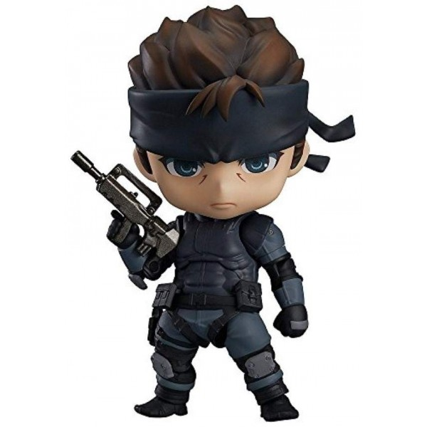 NENDROID 447 METAL GEAR SOLID : SOLID SNAKE JPN NEW