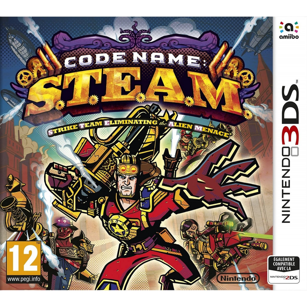 CODE NAME:S.T.E.A.M 3DS FR