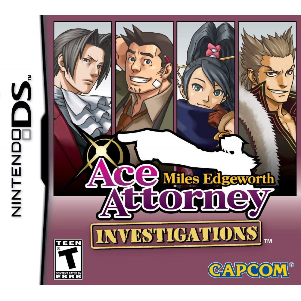 ACE ATTORNEY MILES EDGEWORTH INVESTIGATIONS NDS USA NEW