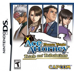 PHOENIX WRIGHT ACE ATTORNEY TRIALS AND TRIBULATIONS NDS US NEW