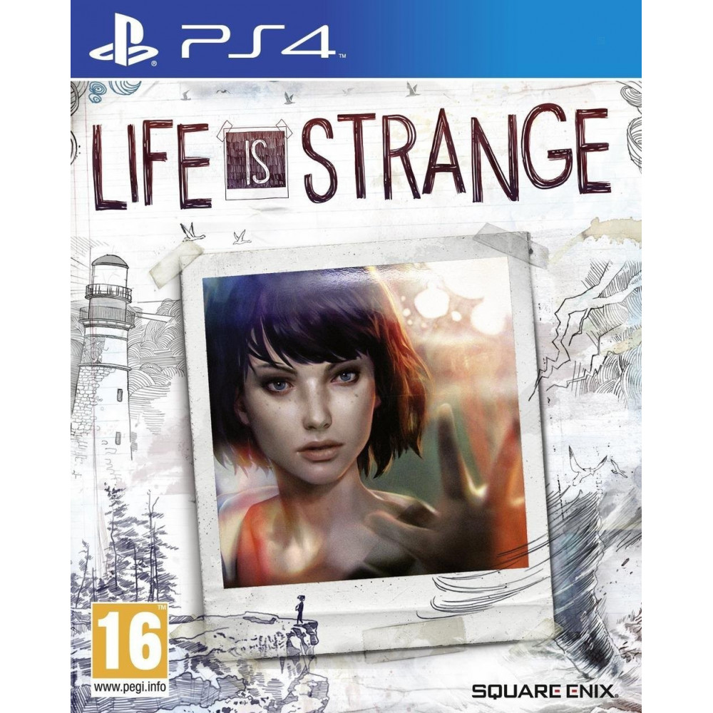 LIFE IS STRANGE PS4 UK NEW