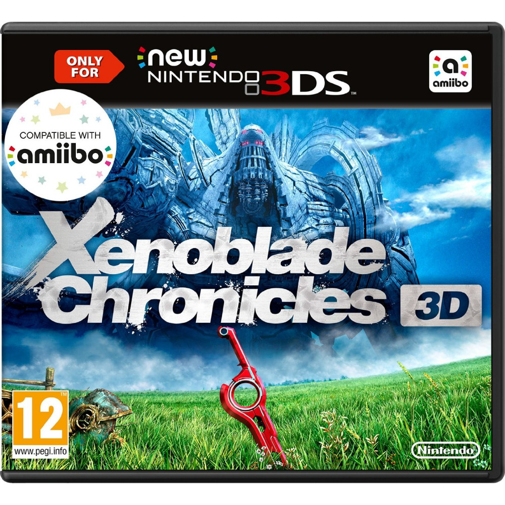 XENOBLADE CHRONICLES 3D 3DS PAL FRA OCCASION