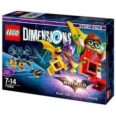 FIGURINE LEGO DIMENSION BATMAN LEGO MOVIE PACK HISTOIRE EURO NEW