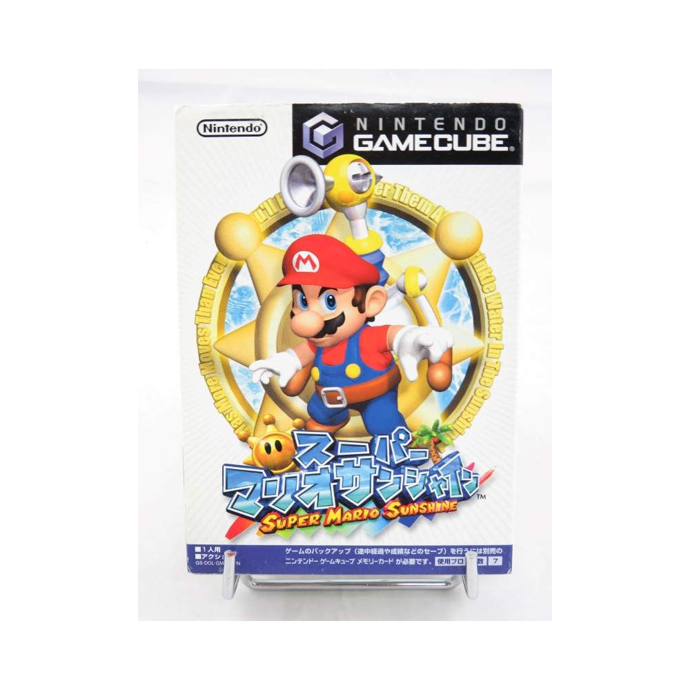 SUPER MARIO SUNSHINE GAMECUBE NTSC-JPN OCCASION