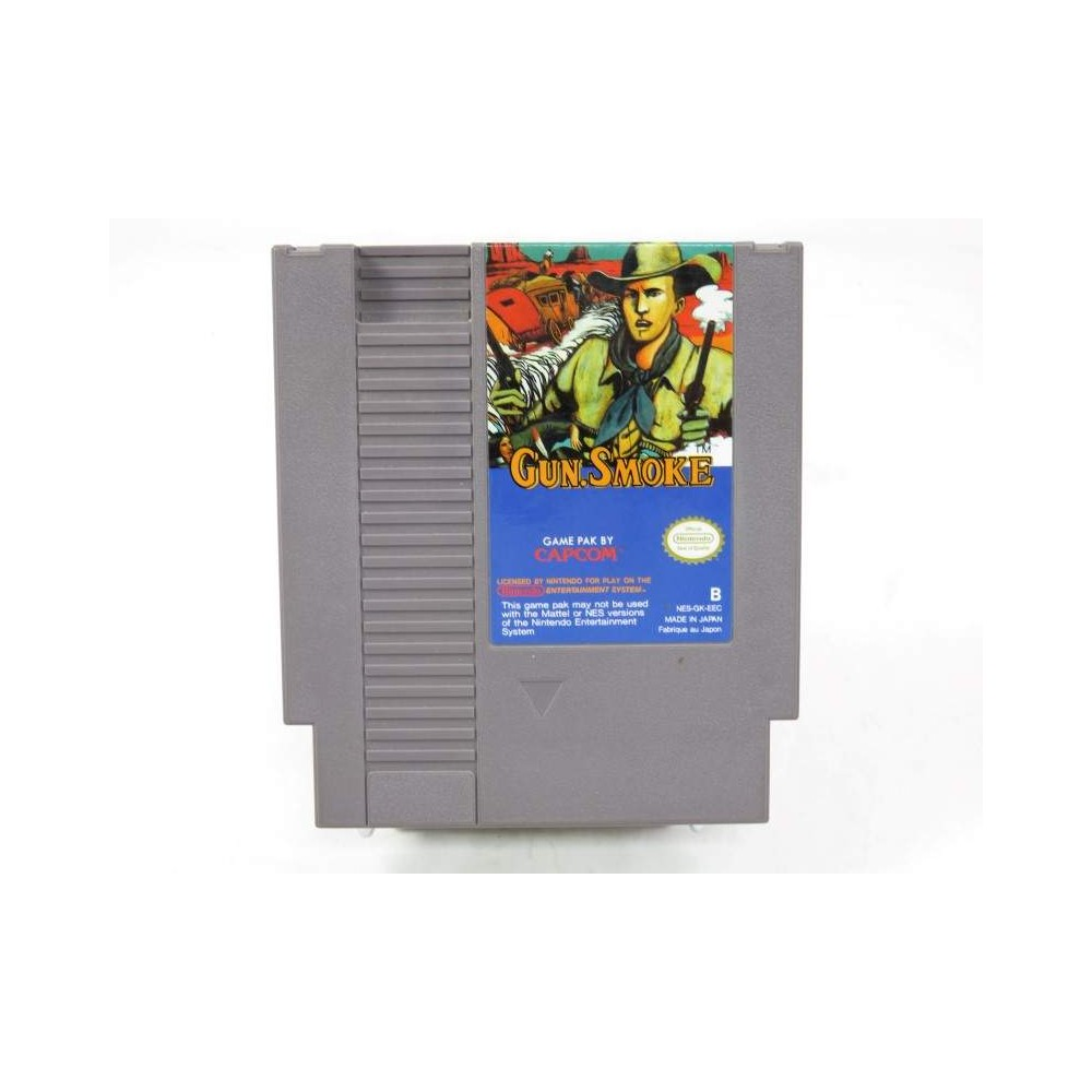 GUN SMOKE NES PAL B EEC LOOSE