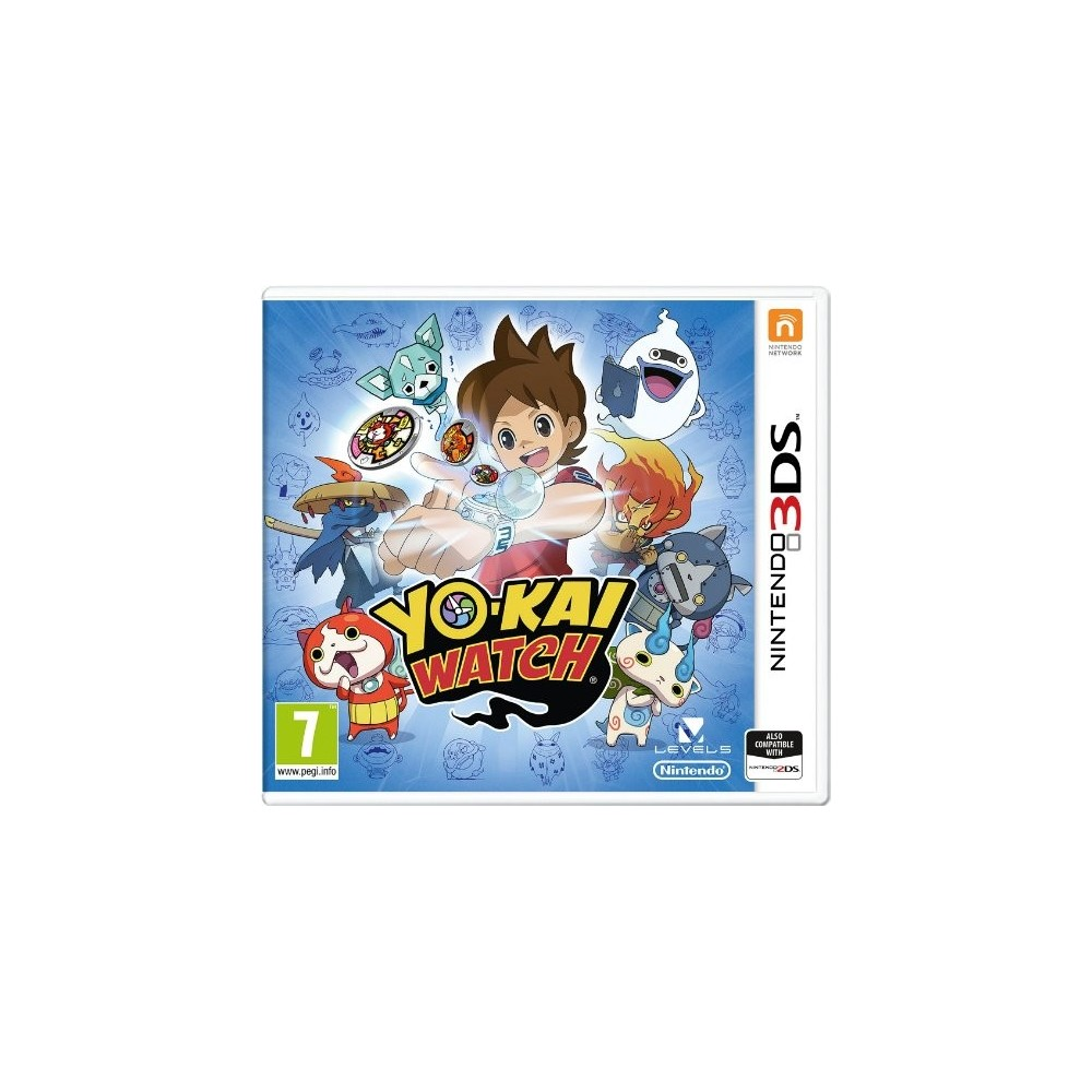 YO KAI WATCH 3DS UK