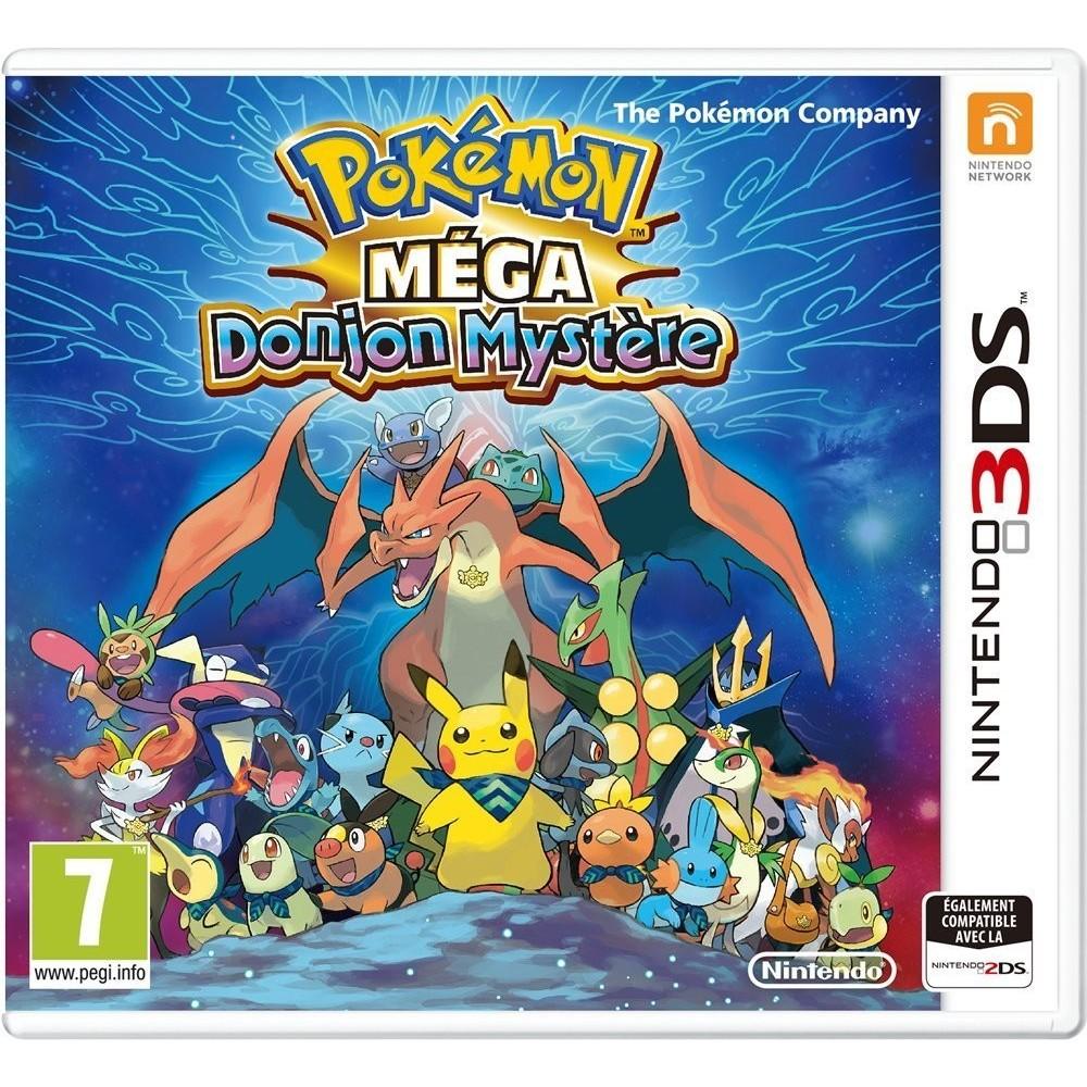 POKEMON MEGA DONJON MYSTERE 3DS VF