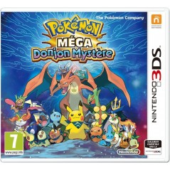 POKEMON MEGA DONJON MYSTERE 3DS VF