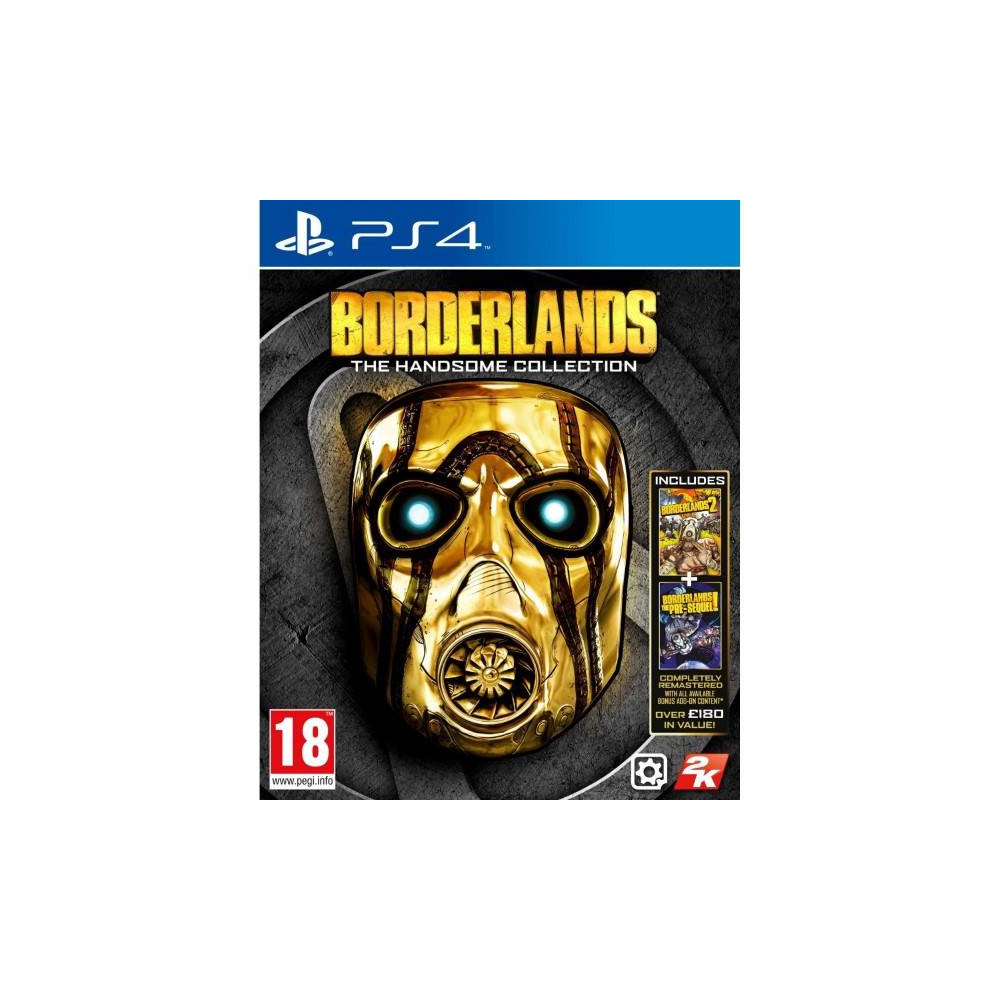 BORDERLANDS THE HANDSOME COLLECTION PS4 FRANCAIS OCCASION