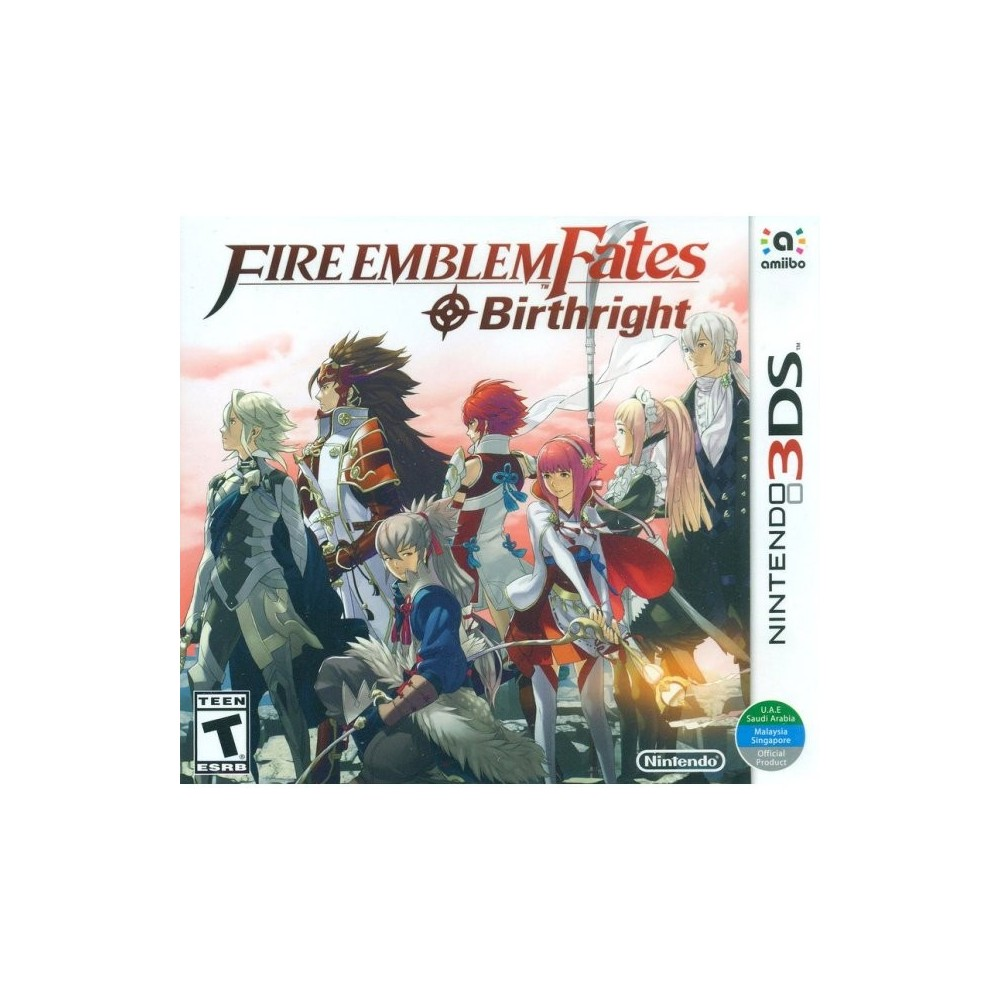 FIRE EMBLEM FATES BIRTHRIGHT 3DS US