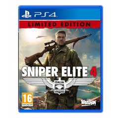 SNIPER ELITE 4 ITALIA LIMITED EDITION PS4 FRANCAIS NEW