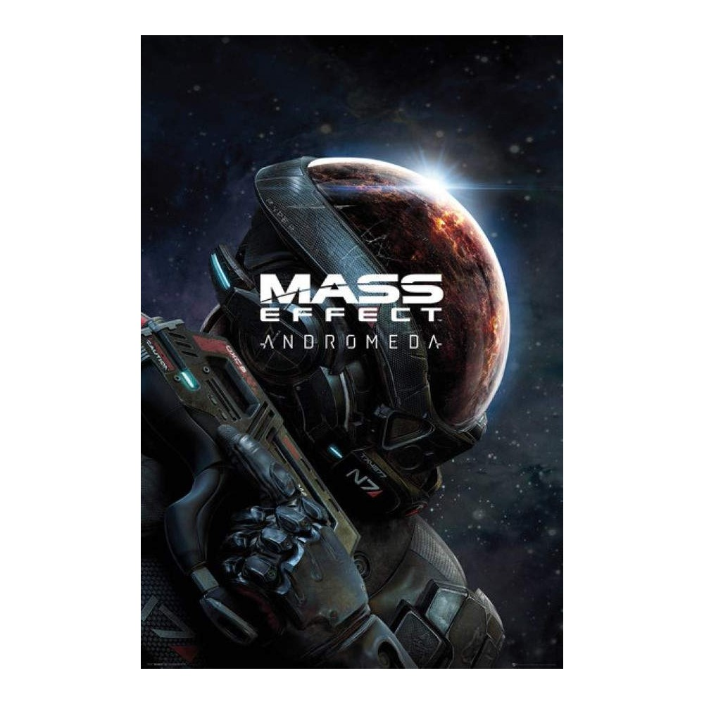POSTER MASS EFFECT ANDROMEDA KEY ART NEW