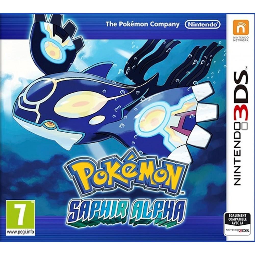POKEMON SAPHIR ALPHA 3DS PAL-FRA NEW