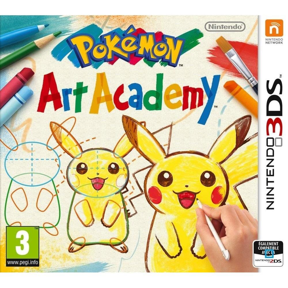 POKEMON ART ACADEMY 3DS VF OCC